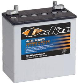 Deka AGM Batteries