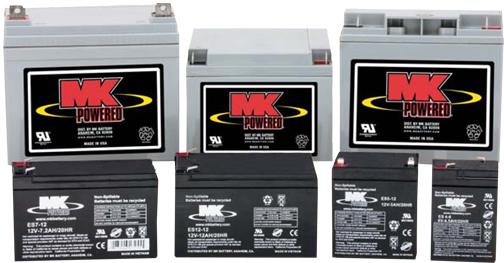 Deka MK Small Sealed Lead Acid Batteries