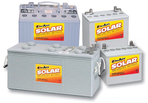 Deka Solar Line of Gel Batteries