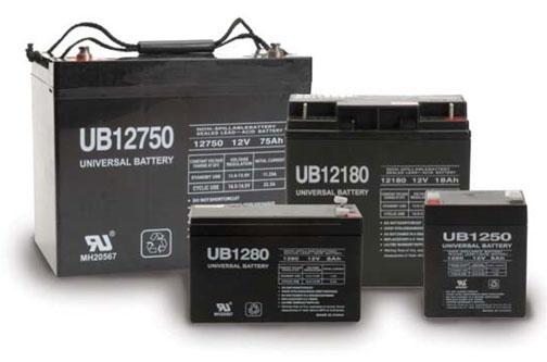 UPG AGM Batteries