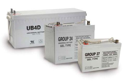UPG Gel Batteries
